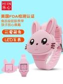兒童手錶電子表女孩款卡通夜光防水男童幼兒寶寶公主韓版小學生表   圖拉斯3C百貨