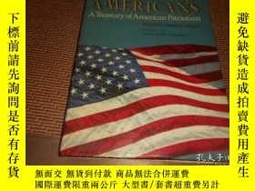 二手書博民逛書店AN罕見ALBUM FOR AMERICANS 精裝八開Y266