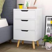 床頭櫃歐式簡約儲物櫃簡易床頭邊櫃小櫃子臥室現代創意斗櫃BL 【萬聖節推薦】