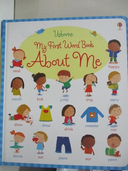 【書寶二手書T2/少年童書_KKA】My First Word Book About Me_Caroline Young,Marta Cabrol