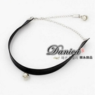 項鍊 現貨 韓國時尚甜美氣質浪漫 皮質珍珠 項鍊 頸鍊 S2362  批發價 Danica 韓系飾品