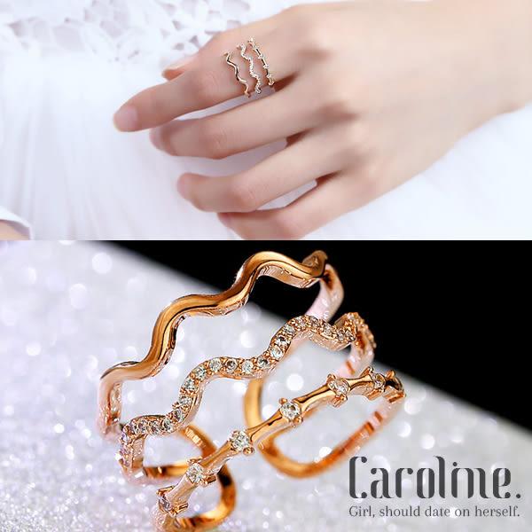 《Caroline》★【一片海】韓國時尚甜美魅力、迷人風采無限動人時尚戒指68868