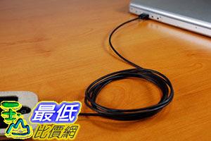 延長線 CableJive xlSync (Black) Extra long 6 ft USB sync and charge cable for iPhone 4/4S _a111