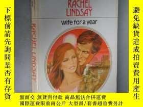 二手書博民逛書店wife罕見for a yearY85718 Rachel Li