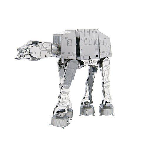 METALLIC NANO PUZZLE 金屬微型模型拼圖 星際大戰04 帝國軍AT-AT機械獸_NO21973