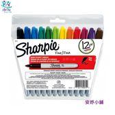 美國進口 Sharpie 12色粗字萬用筆組 簽字筆 奇異筆 萬用筆 30078 安妤小舖