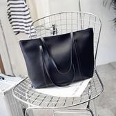韓版時尚休閒大容量手提包托特包