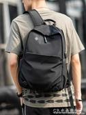 背包男雙肩包時尚潮流休閑大容量旅行包電腦包簡約大學生書包男 水晶鞋坊