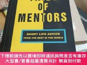 二手書博民逛書店英文原版罕見Tribe of Mentors: Short Life Advice from theY2468