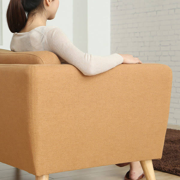 現貨+預購》雙人沙發  / 淺咖啡色 Materiaux 北歐日式雙人加大沙發 / MODERN DECO