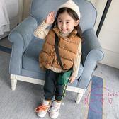 女童嬰兒童裝冬裝新品寶寶加厚棉背心保暖背心棉坎肩1-2-3歲4 新年鉅惠