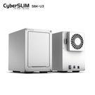 CyberSLIM S84-U3 PLUS USB3.0 3.5吋4層外接盒單功能讀取4顆