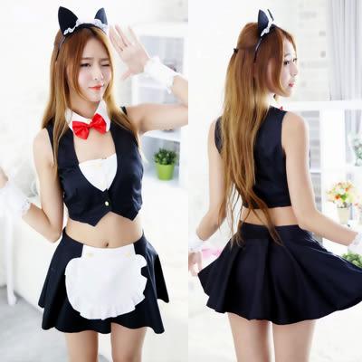 【預購】性感貓咪制服套裝組 情趣內衣 角色扮演 情人節 F92359