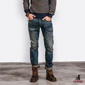 SISJEANS-仿舊重刷色牛仔褲【15271012】