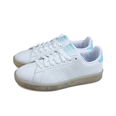 adidas ADVANTAGE 網球鞋 運動鞋 白/淺藍 女鞋 FY9682 no908