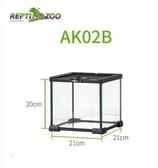 玻璃爬蟲角蛙飼養箱陸爬寵箱