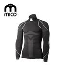 mico 男無縫單向導濕圓領保暖衣1842  / 城市綠洲 (運動機能、登山、跑步、旅行、滑雪)