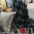 R.Q.POLO ACE印花系列 ( 日本毛布雙面印花厚毛毯-210X230CM )