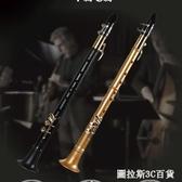 薩克斯樂器簡易小薩克斯風中音次中音成人兒童初學者哨片管樂 QM圖拉斯3C百貨