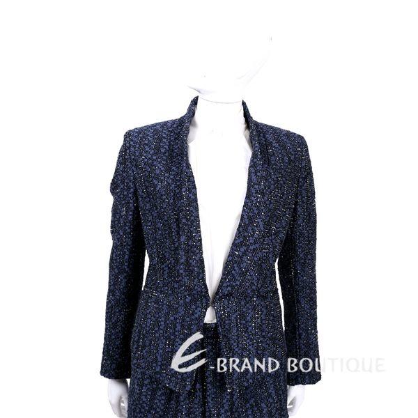 Christian Pellizzari 藍色毛呢西裝外套 1540196-23