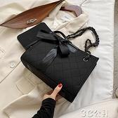 手提包 大容量通勤包包新款潮網紅手提女包時尚斜挎包百搭托特包 快速出貨