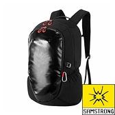 【SAMSTRONG】雙肩健行背包 30L『黑色』露營.戶外.健行.旅遊.旅行.自助旅行.多隔間 B0386