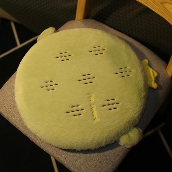 圓形坐墊記憶棉電腦椅墊子辦公室久坐屁股椅墊【聚寶屋】