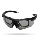 特種兵偏光眼鏡戶外防風護目鏡釣魚騎行戰術風鏡眼睛男太陽鏡 快速出貨