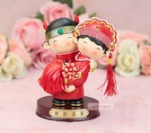 一定要幸福哦~~甜甜蜜蜜安床娃娃(大)、喝茶禮、吃茶禮、婚俗用品