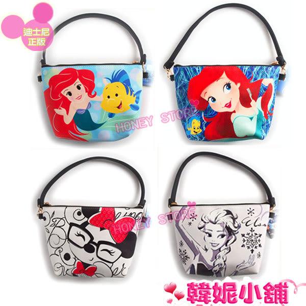 韓妮小舖 正版 迪士尼 T型手提包 手提袋 側背包 化妝包 皮革 迪士尼批發【HD3269】