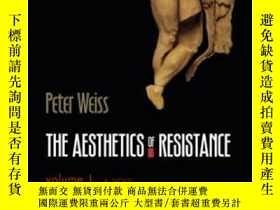 二手書博民逛書店The罕見Aesthetics Of Resistance, Volume 1-反抗的美學,第一卷Y43663