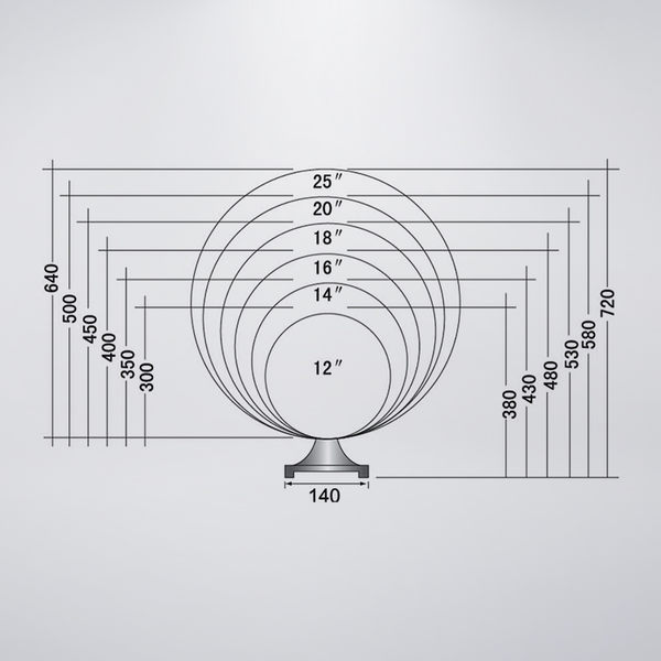 戶外防水門柱燈  25吋PE球 黃、白兩色 可搭配LED 訂製品 下單前請先詢問