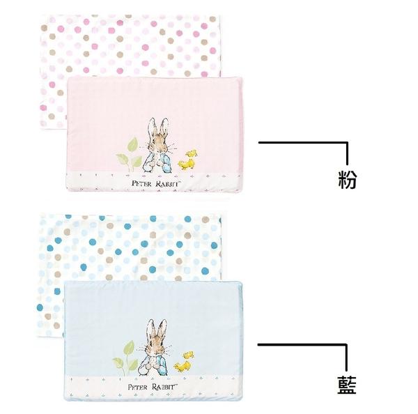 小饅頭** 奇哥 花園比得兔乳膠枕(粉、藍)