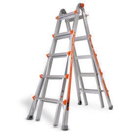 【小巨人工作梯】萬用梯M-22,成人的百變金鋼, 鋁梯界的勞斯萊斯