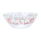 【震撼精品百貨】My Melody 美樂蒂~三麗鷗SANRIO~耐熱玻璃碗-草莓*37107