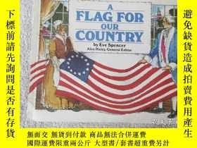 二手書博民逛書店A罕見Flag for our CountryY21478 Ev