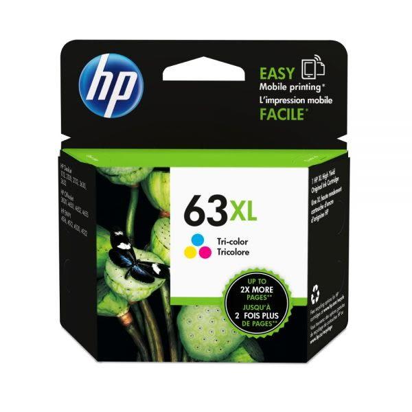 ☆USAINK☆HP 63XL / F6U63AA 彩色原廠高容量墨水匣 適用: HP 1110/2130/3630/3632/4520/4650
