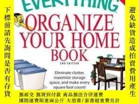 二手書博民逛書店The罕見Everything Organize Your Home BookY410016 Jenny Sc