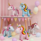 買二送一 寶寶滿月百天布置站立小馬氣球兒童生日派對裝飾【聚寶屋】