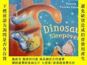 二手書博民逛書店dinosaur罕見sleepover..Y12498