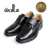 waltz-新一代金牌獎專利輕呼吸氣墊鞋32017-02(黑)