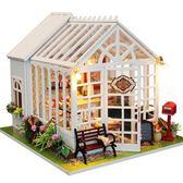 蛋糕店DIY小屋幸福的滋味創意手工制作木質大型別墅拼裝玩具成人 igo 露露日記