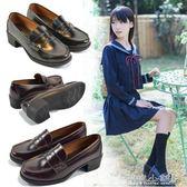 女僕鞋 學生單鞋雪鬆制服鞋日繫學院風中跟表演鞋小皮鞋 傾城小鋪