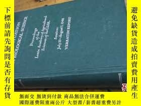 二手書博民逛書店1949年出版:THE罕見SITUATION IN BIOLOG