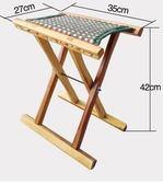 折疊椅實木棗木芯馬扎棗木馬扎戶外燒烤折疊凳釣魚馬扎便攜折疊凳餐椅igo 法布蕾輕時尚