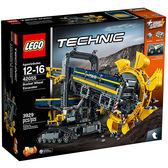 樂高積木LEGO 科技系列 42055 巨型滾輪挖土機