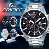 【人文行旅】EDIFICE   EFV-530D-1AVUDF 高科技智慧工藝結晶賽車錶 casio