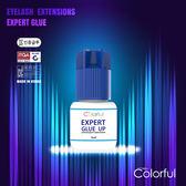 韓國進口藍蓋黑膠5ml(小藍) 韓國進口植睫毛/接睫毛/種睫毛專用黑膠/ 專業級/速乾超黏