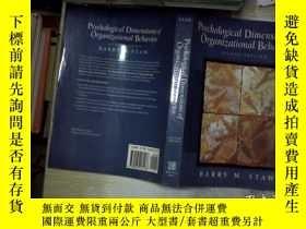 二手書博民逛書店Psychological罕見Dimensions of Org