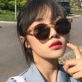 墨鏡 2018新款女潮太陽鏡韓版個性圓臉眼鏡復古圓形潮原宿墨鏡小臉 WE517『優童屋』